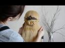 Причёска: быстро, просто, красиво. Hand made гребешок