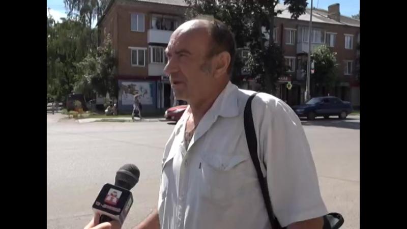 Опрос на улицах города на тему Мой Донской