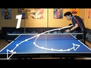 Best Table Tennis Serves Tutorial. (Pt 1: backspin, hook) TOMORROW TABLE TENNIS