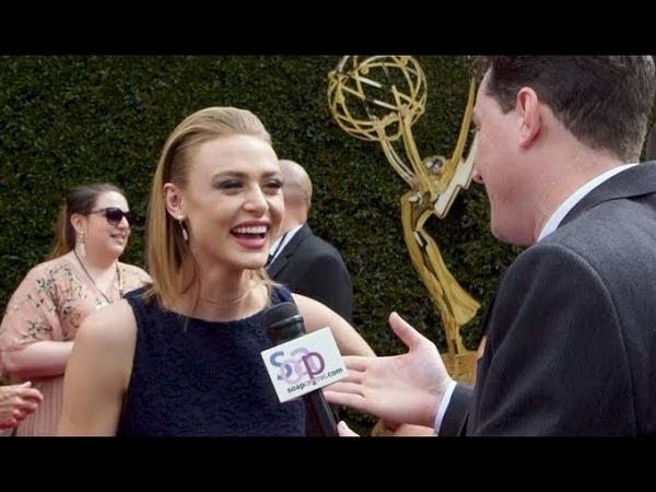 2018 Daytime Emmys General Hospital's Hayley Erin