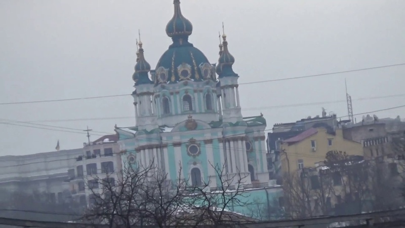 Киевский Подол в декабре
