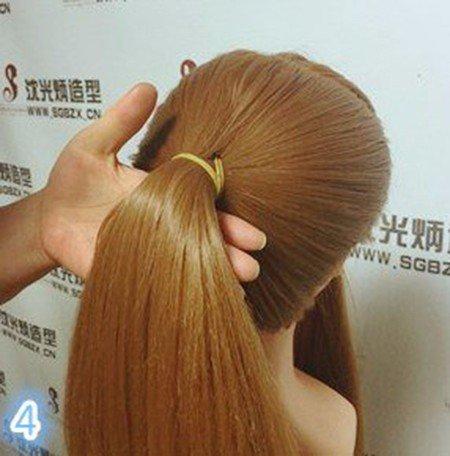 Прическу на короткий волос в домашних условиях