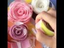 Розовые розы... из мыла
