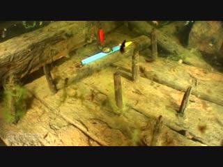 Деревянное судно предположительно xvi-xvii вв.