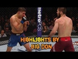 Khabib Nurmagomedov vs Al Iaquinta - Full Fight Highlight/Лучшие моменты боя