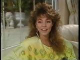SANDRA - INTERVIEW _ REPORT, 2 LIVE performances - Teen Magazin, Germany (1986)