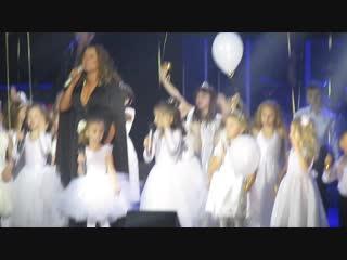 Полина выступает с Натальей Могилевской 28.11.2018г на концерте в Мариуполе