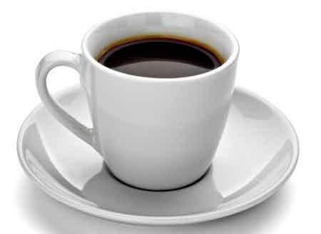 Кофе содержит дубильные вещества.