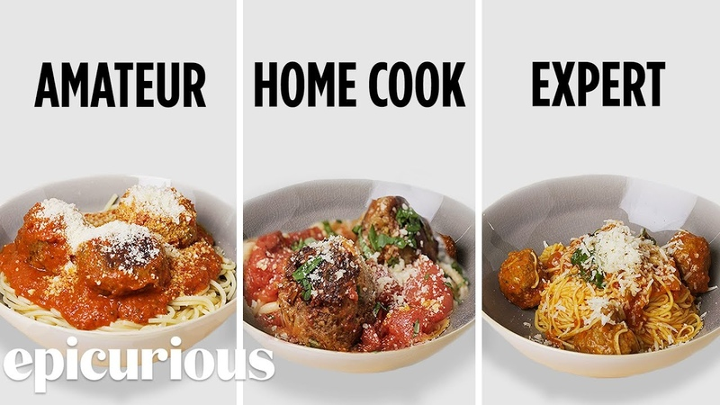 4 Levels of Spaghetti Meatballs: Amateur to Food Scientist | Epicurious