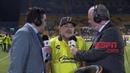 """Maradona se quedó pegado"""" en una entrevista y no pudo articular la respuesta a una pregunta"""
