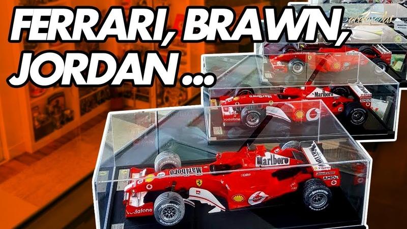 Rubinho revela suas miniaturas da F1 e conta histórias dos 19 anos na categoria! - Especial 246