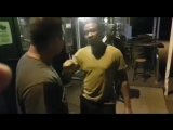 South African man knocks out nigger who brings up racism