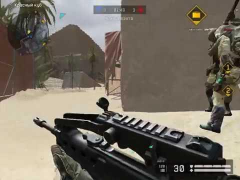 Warface ПТС Рейтинговый матч