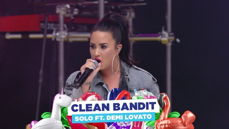 Clean Bandit 'Solo' ft Demi Lovato live at Capital's Summertime Ball 2018