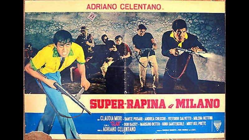 Суперограбление в Милане 1964, Италия, комедия