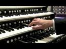 J.S. Bach Wachet auf, ruft uns die Stimme BWV 645 Hauptwerk Virtual Pipe Organ