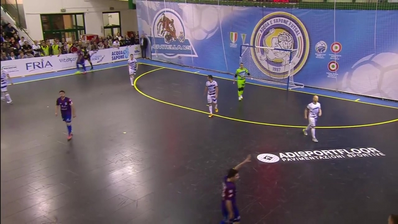 Italy League - Semi Finals 1st Leg Match - AcquaSapone Unigross 3x1 Real Rieti
