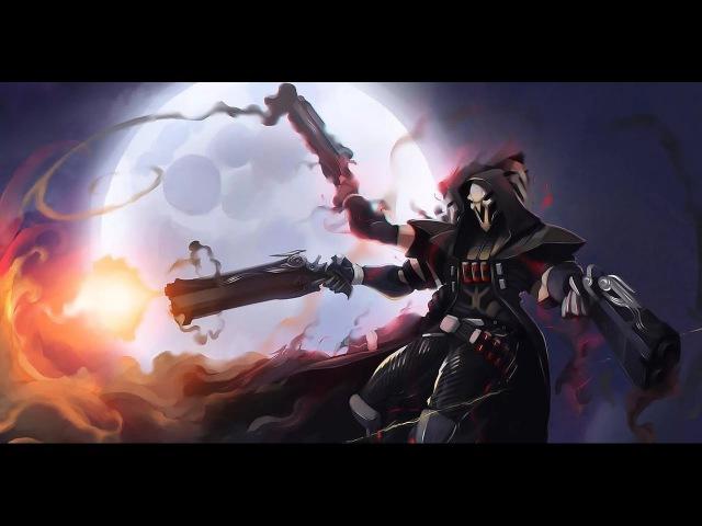 Нарезка геймплея за Жнеца (Reaper) Overwatch
