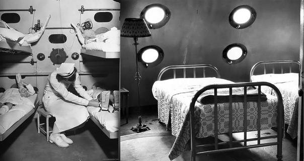 САНАТОРИЙ КАННИНГЭМ - ЛЕЧЕНИЕ СВЕЖИМ ВОЗДУХОМ На берегу озера Эри в Кливленде (США) когда-то стояла гигантская стальная сфера высотой 19,5 метров санаторий Каннингэм. Внутри сферы было 38