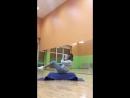 Силовая тренировка с разминкой на step платформе