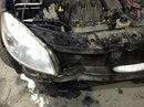Наши работы по Renault Sandero : Кузовные работы по передней части автомобиля. Ремонт переднего бампера с покраской.