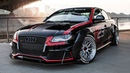 CRAZY PROJECT!! AUDI A4 B8 DTM - From a FWD 2.0TDI into a V8 quattro MONSTER - Dont miss this!