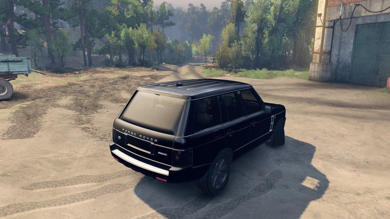 Range Rover Sport Black Final для Spintires - Скриншот 2
