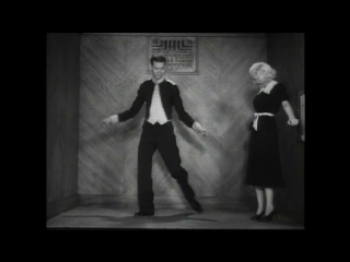 June Allyson and Hal LeRoy Exchange Dance Steps