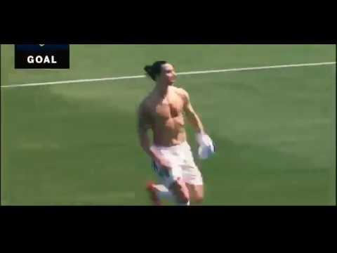 Ibrahimovic's first goal in the MLS (Vine)