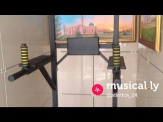 Турник/ брусья / пресс напольный atletica24.ru