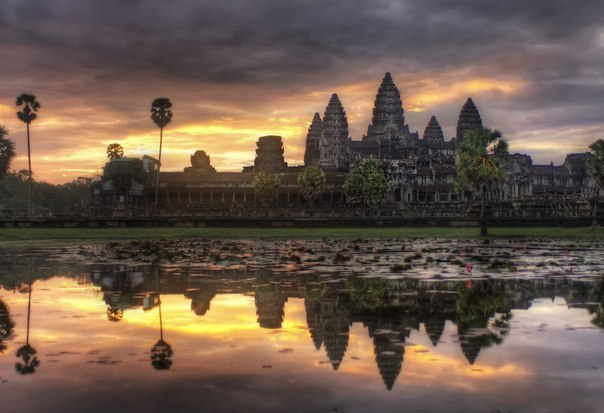 Ангкор-Ват, Камбоджа.