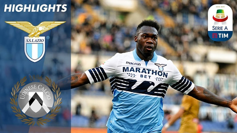 Lazio 2 0 Udinese Quickfire Lazio Double Seals The Game Serie A