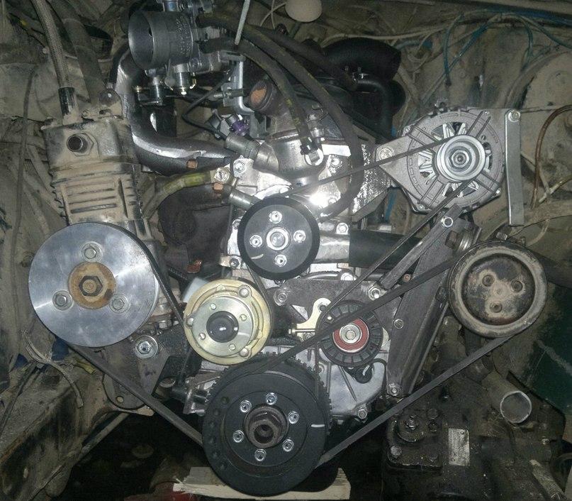 Установка УМЗ-4216 на УАЗ-469