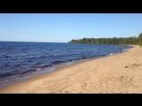 Онежское озеро в Карелии. Застава. Встреча мастеров. Чеурин