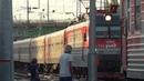 прибытие поезда №161 Анапа-Москва