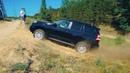 Бензиновый Прадо показывает как надо ездить по песчаным горам