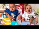 Анна Курникова впервые показала общее фото своих двойняшек.