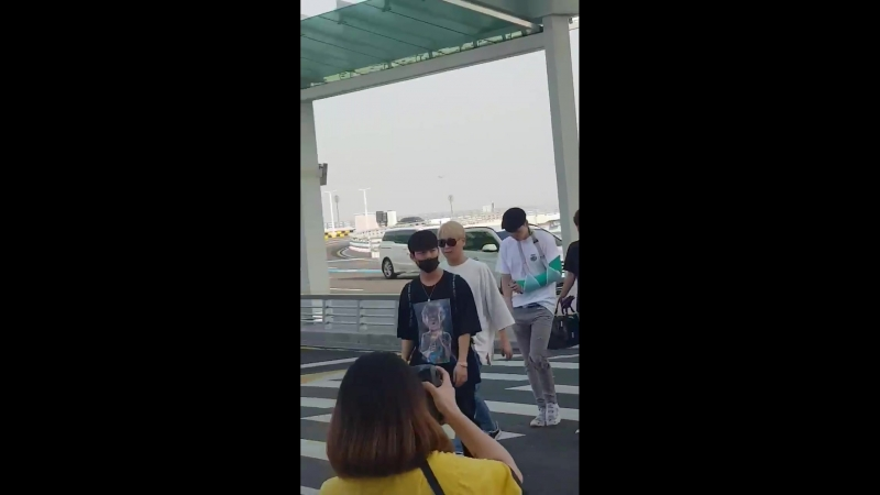 [FANCAM] 180622 B.A.P Incheon Airport