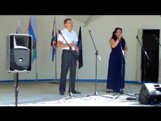 Песня Россия в исполнении Натальи и Айдера Абтишаевых