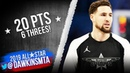 Klay Thompson Full Highlights in 2019 All-Star Game - 20 Pts, 6 Threes! | FreeDawkins