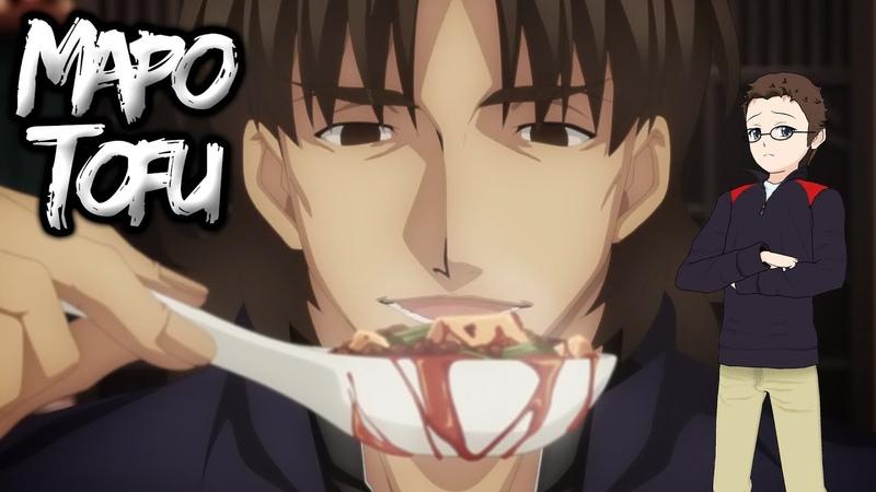Kirei's Mapo Tofu Challenge @ ufotable cafe! [Heaven's Feel]