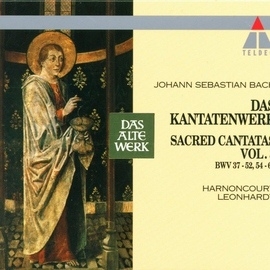 Nikolaus Harnoncourt альбом Bach, JS : Sacred Cantatas Vol.3 : BWV 37-52, 54-60