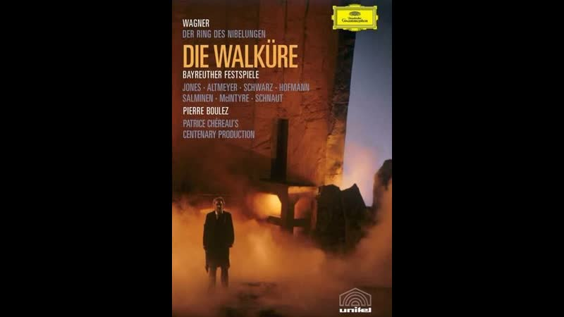 Wagner. Die Walküre / Boulez, 1980