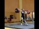 Ахти Аухадов. Приседания+толчок 221 кг