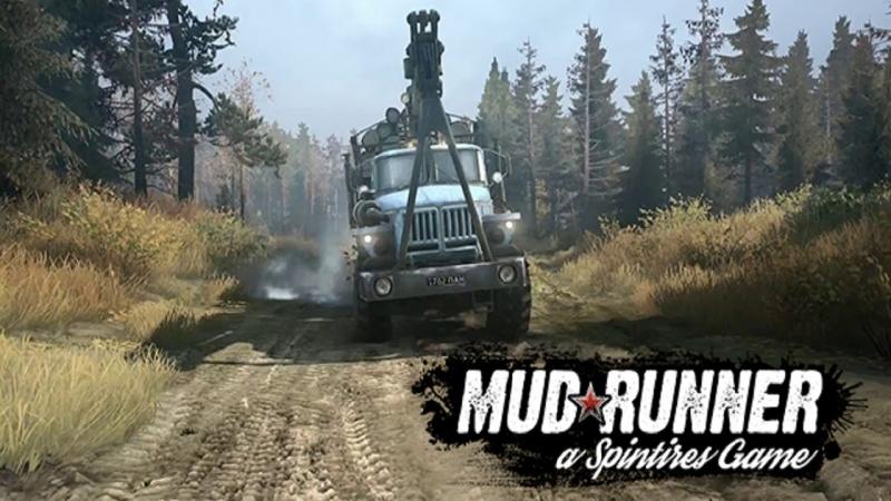 Стрим 04 по Spintires MudRunner Multiplayer (The Valley DLC) ver.18/03/06