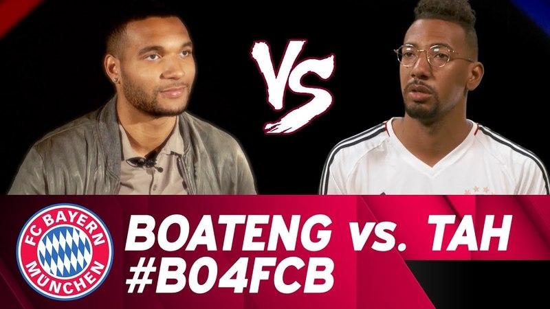 Jérôme Boateng vs. Jonathan Tah | Interviewduell | DFB-Pokal-Halbfinale B04FCB