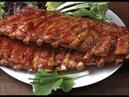 Рецепт свиные ребрышки горячего копчения полный процесс в коптильне от компании SMOKE HOUSE