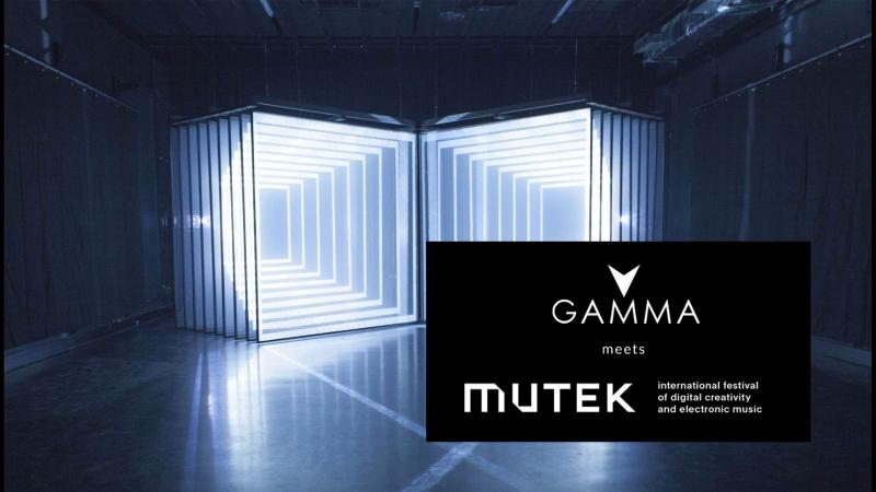 Gamma Festival meets MUTEK Festival
