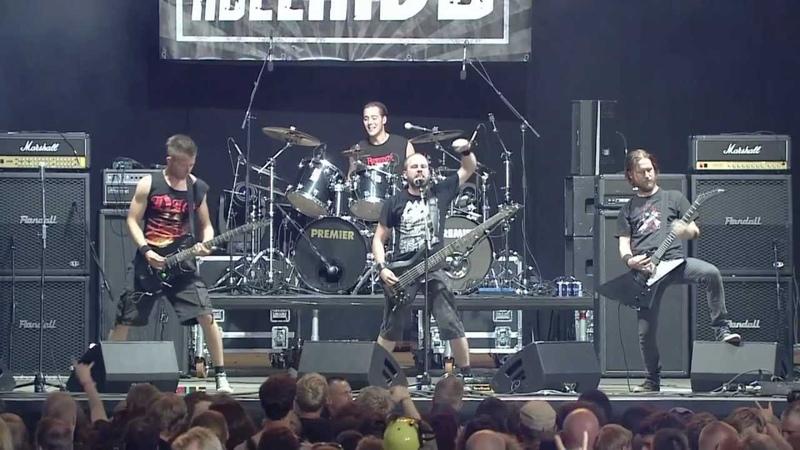 Electric Hellride - Exhaling Chaos (live from Wacken Open Air 2012, audio mixed by Jacob Bredahl)