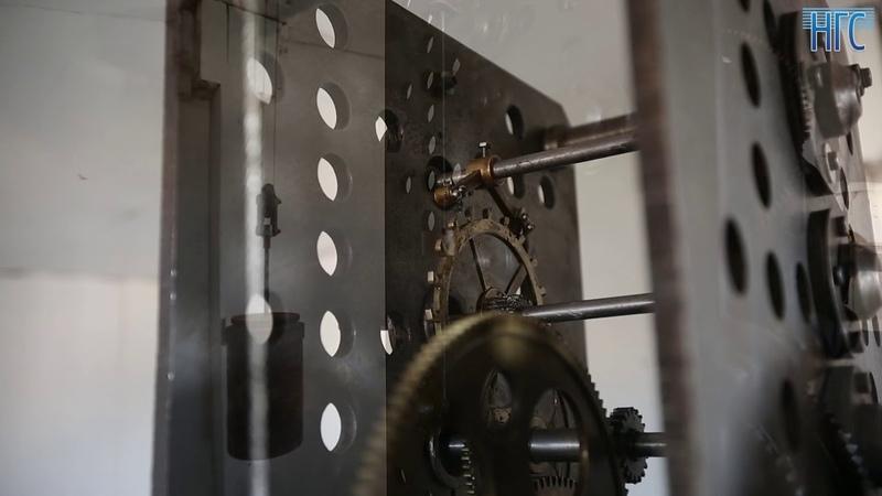 В Новосибирске запустили легендарные часы